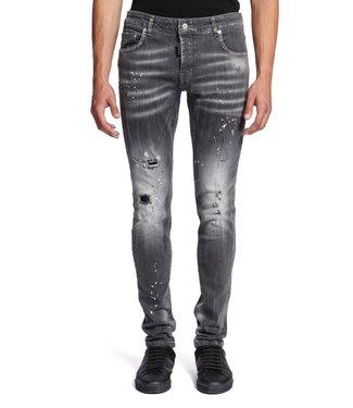 Mybrand Mybrand : Jeans Bleached spotted-Grey