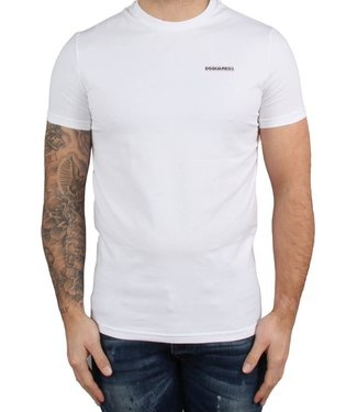 Dsquared2 Dsquared2 : T-shirt round neck-White