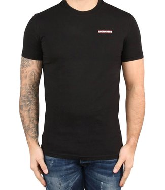 Dsquared2 Dsquared2 : T-shirt round neck-Black