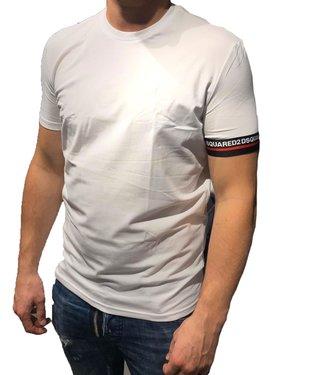 Dsquared2 Dsquared2 : T-shirt round neck-White