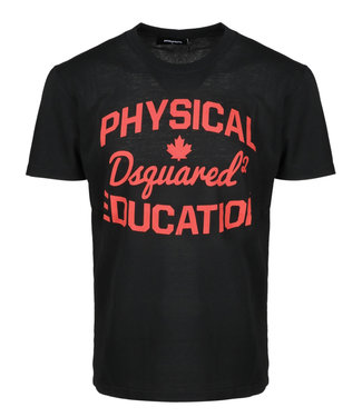 Dsquared2 Dsquared2 : T-shirt Physical-Black