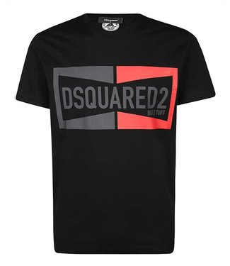 Dsquared2 Dsquared2 : T-shirt dyed cool fit-Black