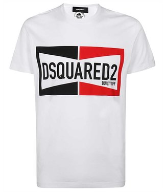 Dsquared2 Dsquared2 : T-shirt dyed cool fit-White