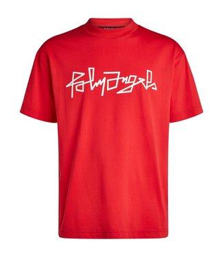 Palm Angels Palm Angels : T-shirt Desert logo-Red