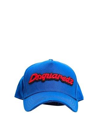 Dsquared2 Dsquared2 : Cap logo-Blue
