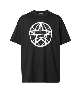 Burberry Burberry : T-shirt Globe-Black
