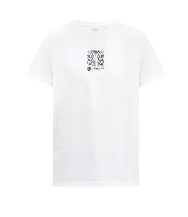 Burberry Burberry : T-shirt Zebra-White