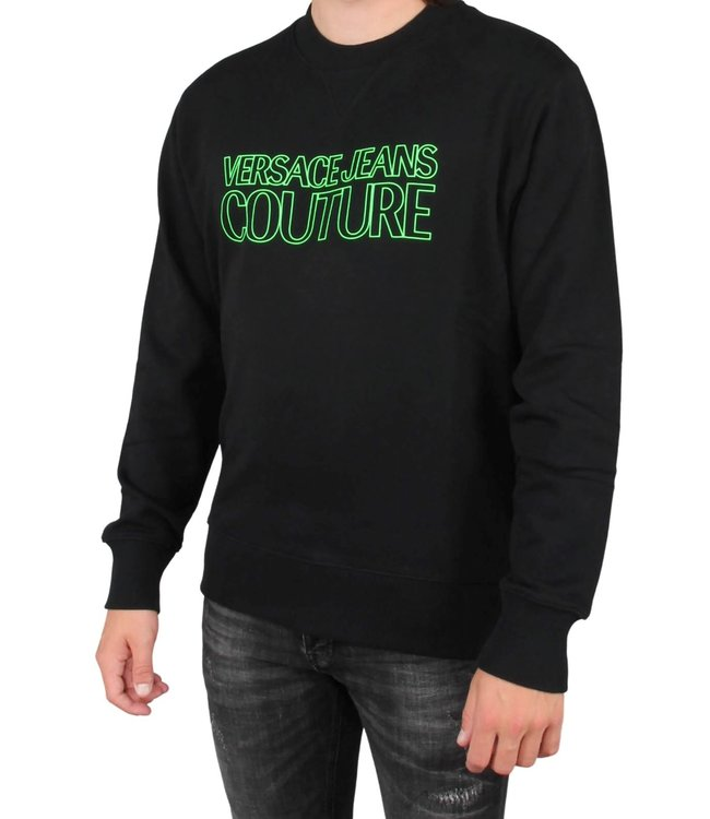Versace Jeans couture Versace jeans : Sweater logo Black