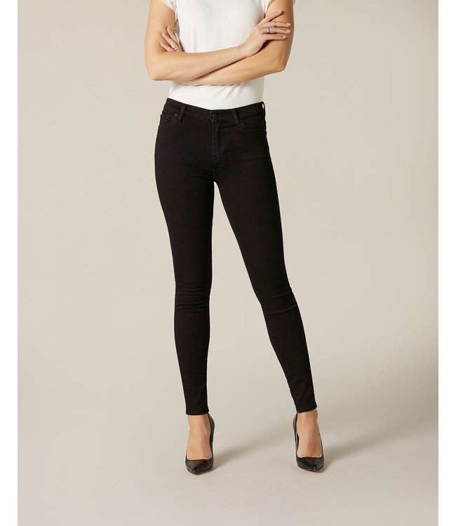 7 For All Mankind 7 for all man kind : 7xHW  Skinny slim illusion luxe rinsed Black