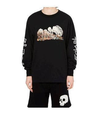 Palm Angels Palm Angels : Sweater Desert skull-Black