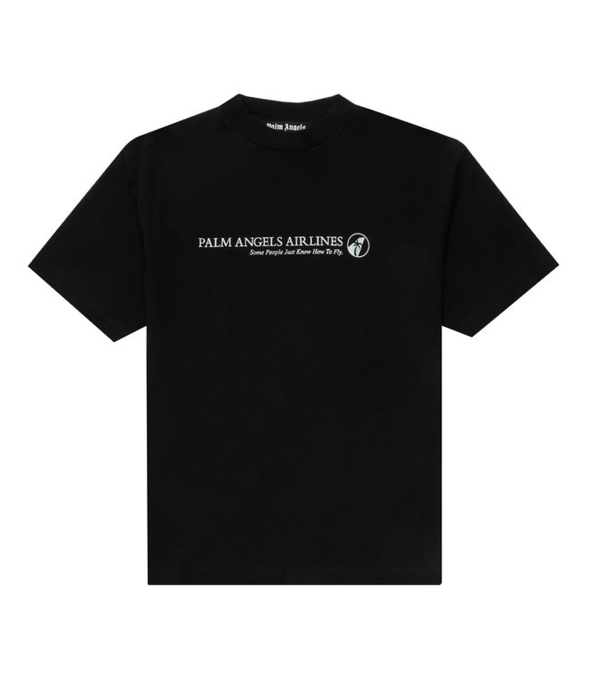 Palm Angels Palm Angels : Tee Airlines-Black