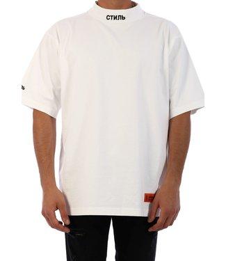 Heron Preston Heron Preston : T-shirt turtle neck СТИ-White