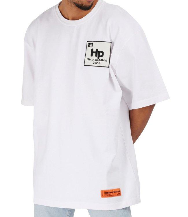 Heron Preston Heron Preston : T-shirt Halo White-Blue