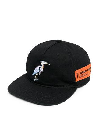 Heron Preston Heron Preston : Cap logo patch-Black