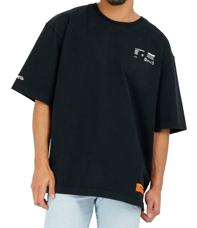 Heron Preston Heron Preston : T-shirt metal workers Black-White