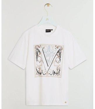 Joshv Joshv  : T-shirt Teddy baroque-White