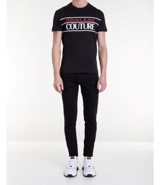 Versace Jeans couture Versace jeans : T-shirt logo-Black