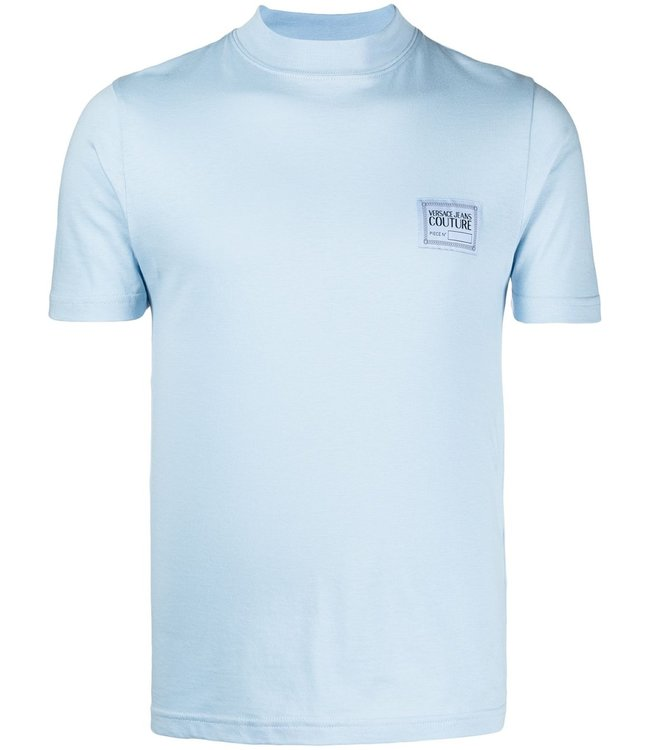 Versace Jeans couture Versace jeans : T-shirt Basic label-Blue