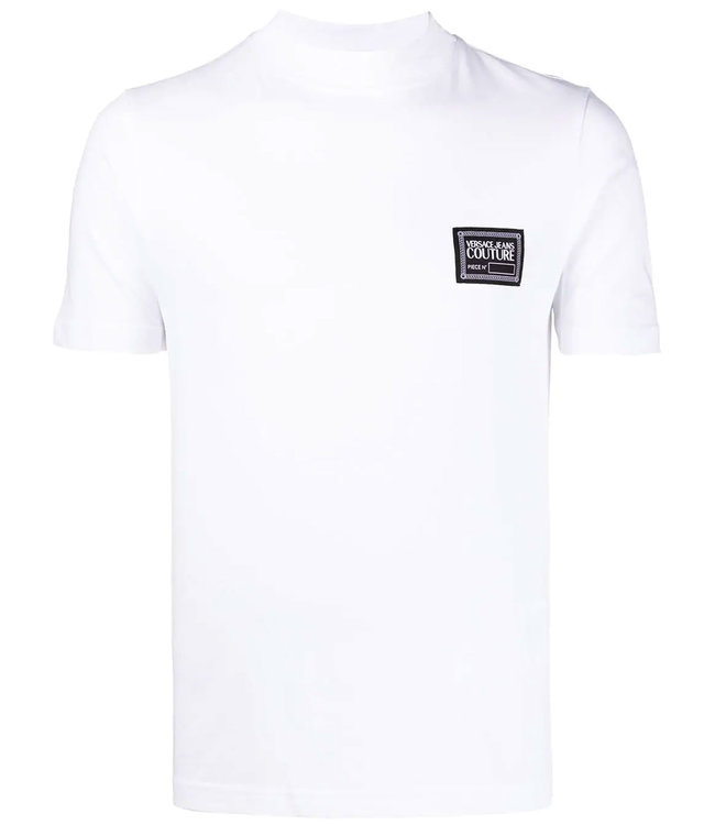 Versace Jeans couture Versace jeans : T-shirt Basic label-White