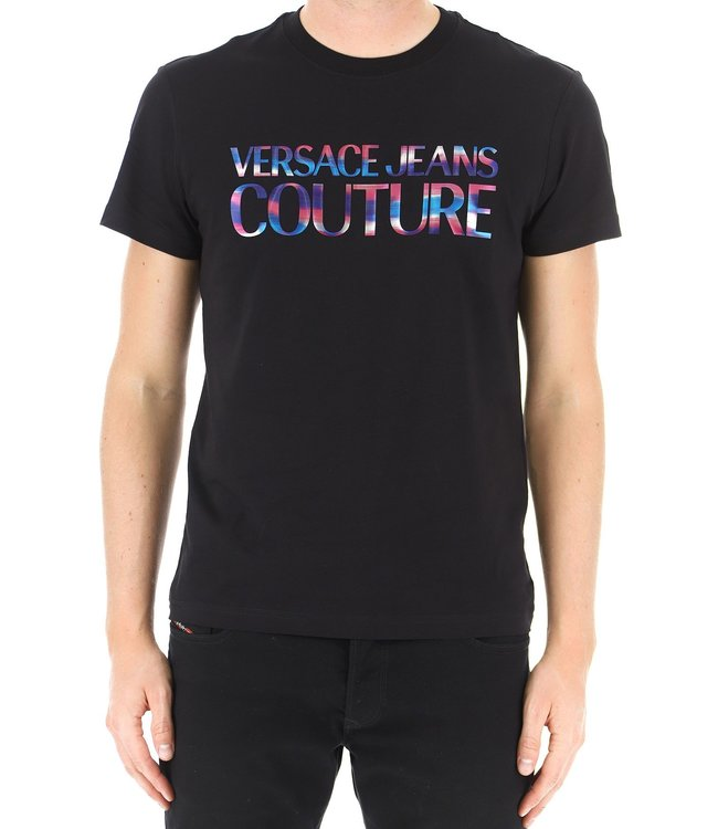 Versace Jeans couture Versace Jeans : T-shirt reflective logo-Black