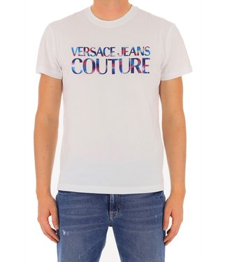 Versace Jeans couture Versace Jeans : T-shirt reflective logo-White