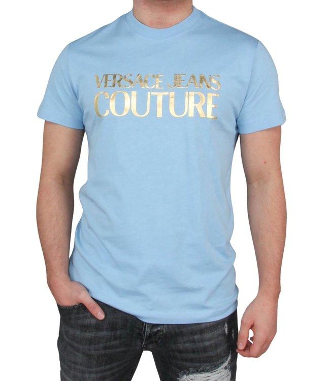 Versace Jeans couture Versace Jeans : T-shirt logo Foil-Blue