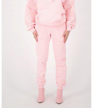 Reinders Reinders : Hoodie pants-Baby pink