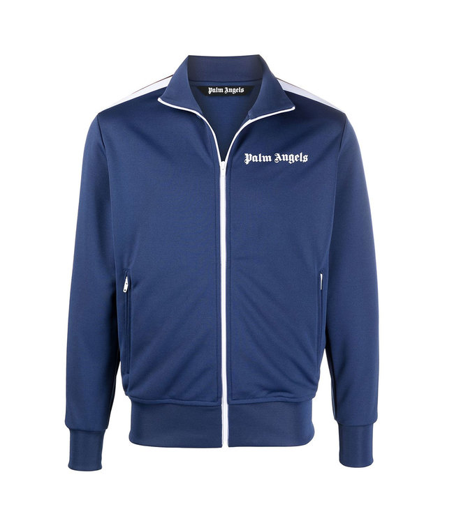 Palm Angels Palm Angels : Classic track jacket-Navy