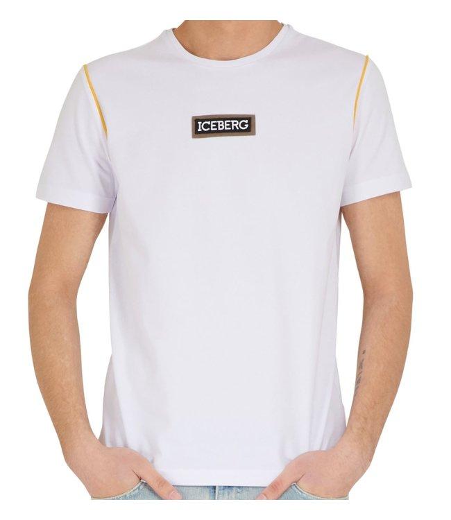 ICEBERG Iceberg : T-shirt patch logo-White
