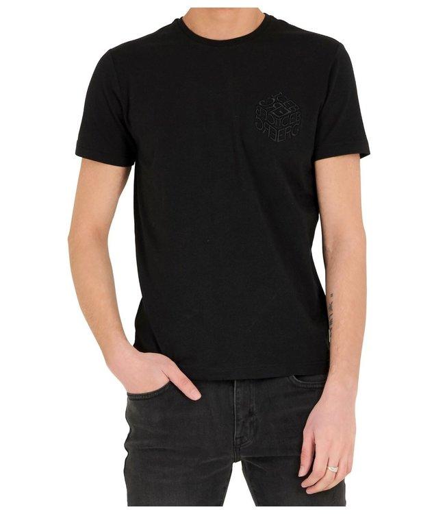 ICEBERG Iceberg : T-shirt Dice logo-Black