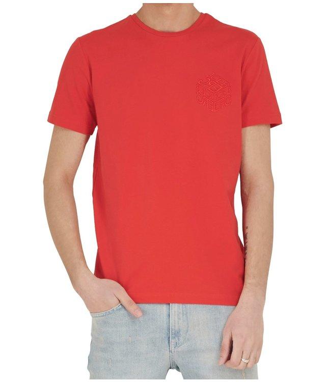ICEBERG Iceberg : T-shirt Dice logo-Red