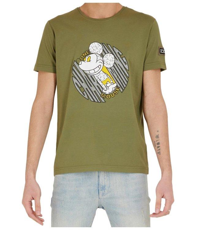 ICEBERG Iceberg : T-shirt Charming mouse-Green