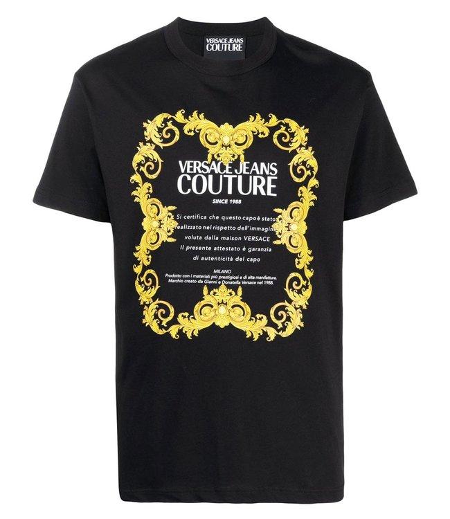 Versace Jeans couture Versace Jeans : T-shirt -Black