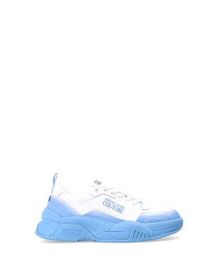 Versace Jeans couture Versace jeans : Sneaker men-White blue