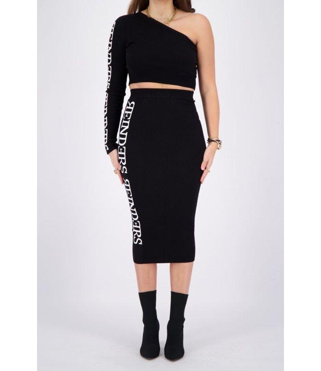 Reinders REINDERS : Laila skirt-Black