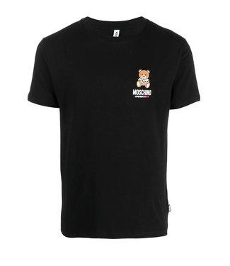 Moschino Moschino : T-shirt Under bear-Black