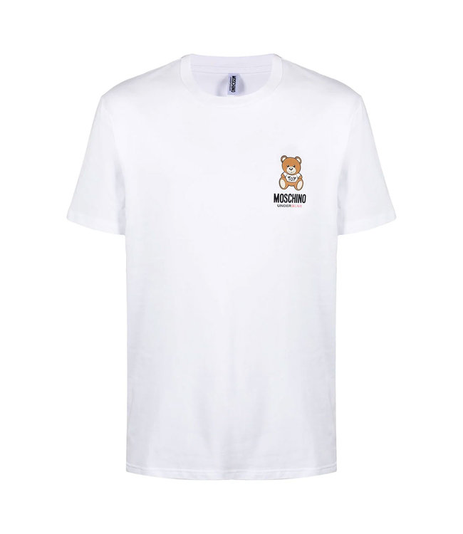 Moschino Moschino : T-shirt Under bear-White