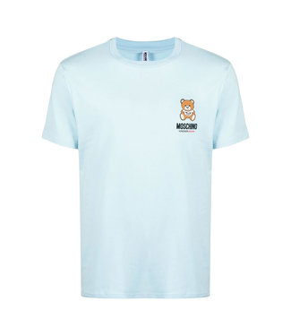 Moschino Moschino : T-shirt Under bear-Blue