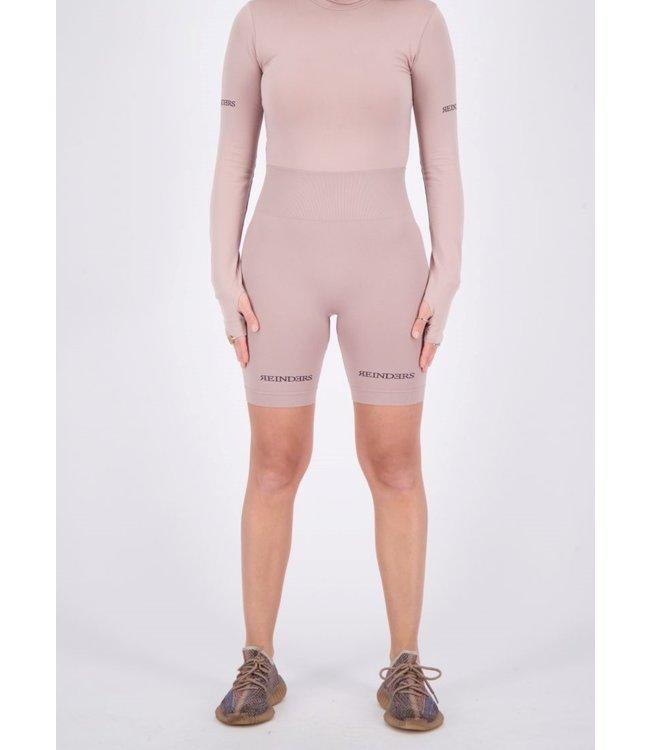 Reinders REINDERS : Sport legging short-Mauve