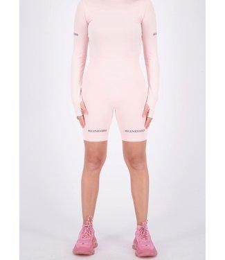 Reinders REINDERS : Sport legging short-Blaby pink