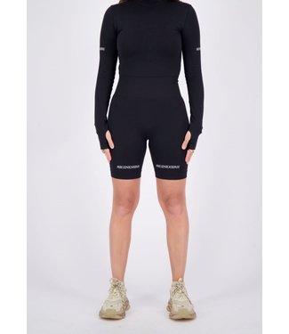 Reinders REINDERS : Sport legging short-Black