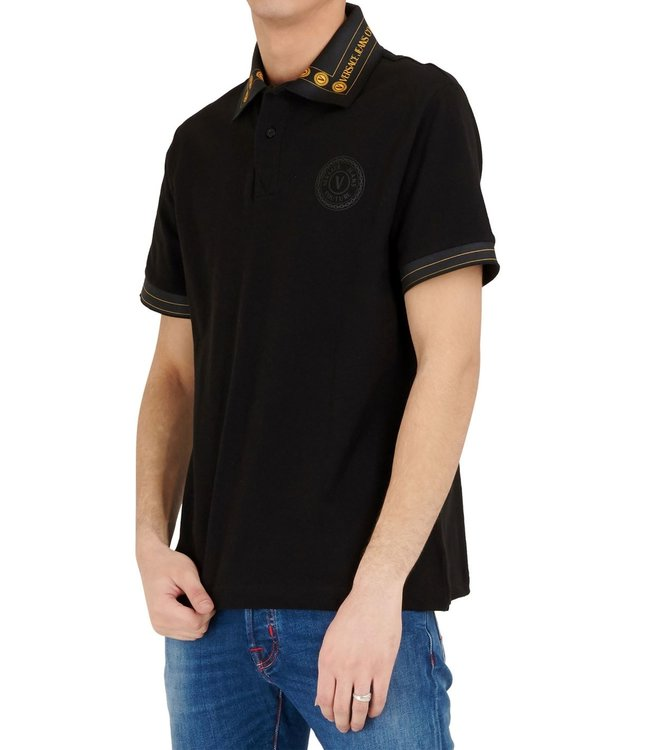 Versace Jeans couture Versace Jeans : Polo Black