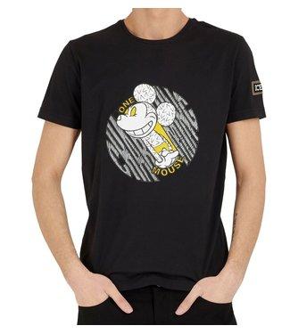 ICEBERG Iceberg : T-shirt Charming mouse-Black