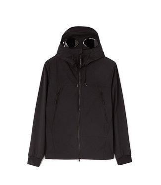 C.P Company Shell-R Medium Goggle Jacket-Black