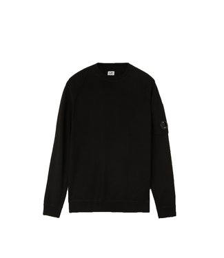 C.P Company Sea Island Crew Neck Sweater-Black