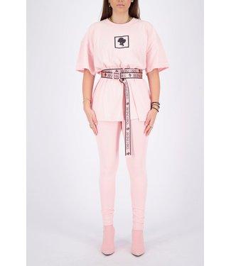 Reinders Reinders : Buckle Belt-Baby pink