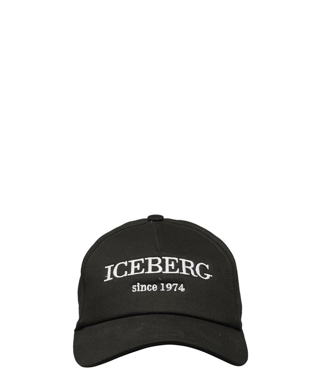 ICEBERG ICEBERG : Cap logo –Black