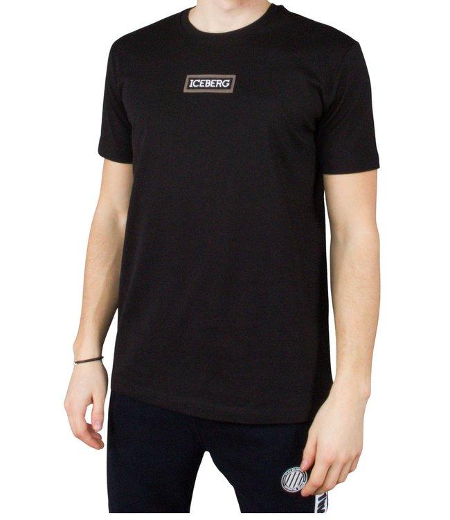 ICEBERG ICEBERG : T-shirt logo patch-Black
