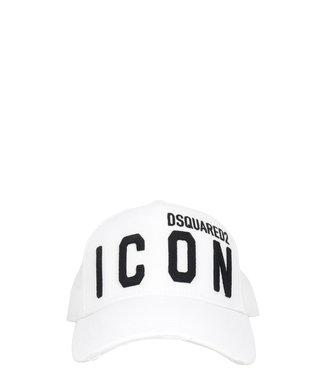Dsquared2 Dsquared2 : Cap Icon-White