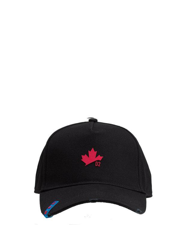 Dsquared2 Dsquared2 : Cap Leaf logo-Black